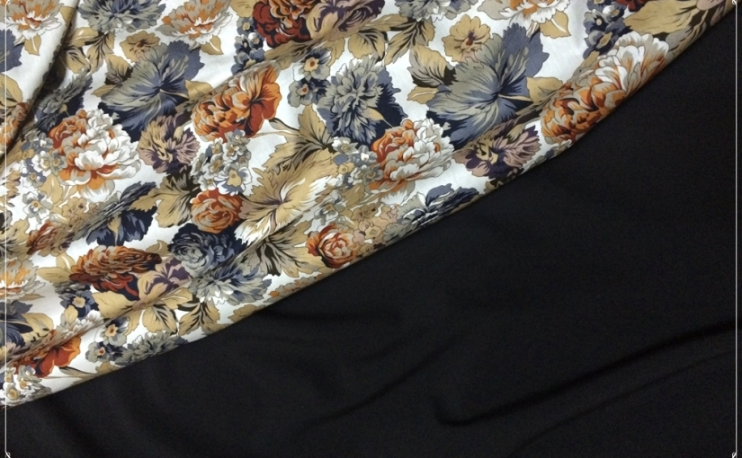The One About Colour BlockFloral
