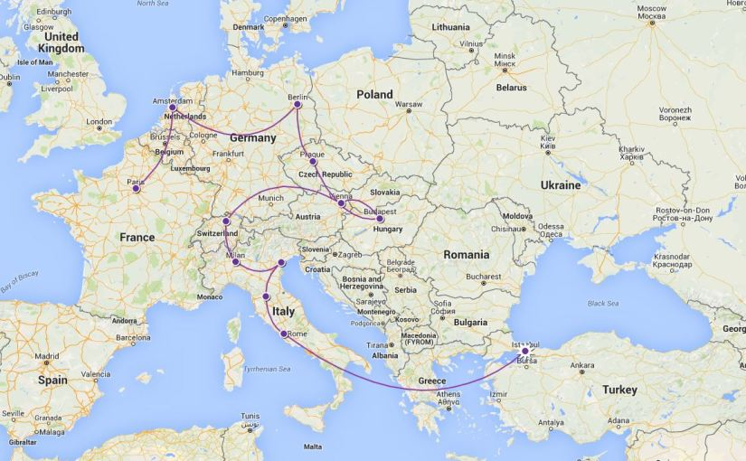 The One About The Great European Adventure